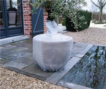 Plastique à bulle 0.5 x 5 m spécial isolation pots