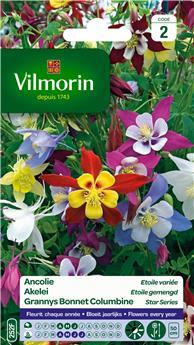 Ancolie Etoile Variée   (Vilm)