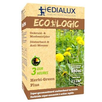 Herbi Green Plus 250 ml Edialux ** Herbicide total sans Glyphosate **