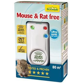 Souris et rat Free 80 Ultrason répulsif
