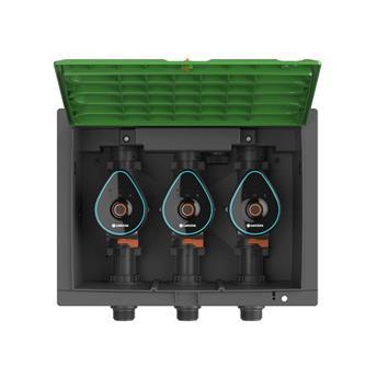 Gardena bloc 3 Voies électro-vannes Bluetooth 9 VPromo pack