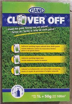Viano Clever Off 100M² NEW ** Contre les mauvaises herbes et les mousses dans le gazon **