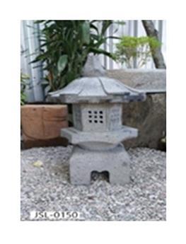 Lanterne japonaise en granit taillé (JSL-0150)