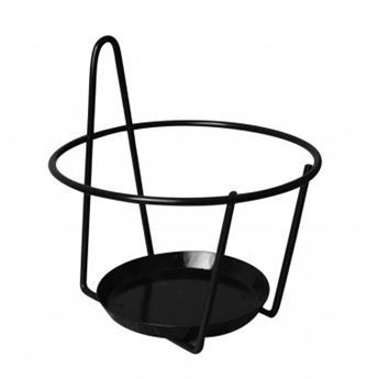 Porte pot crochet un pot 20-22 cm Anthracite (LM)