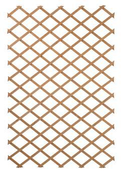 Treillis extensible 100 x 300 cm bois vert