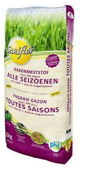 Sani Engrais gazon + bact. 20 kg Toutes saisons