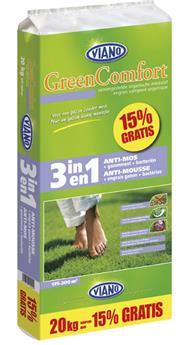 Viano Engrais gazon 3-1 GreenComfort 17.5 kg + 15% promo