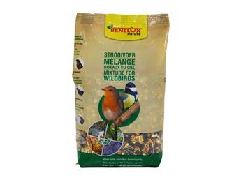 Melange oiseaux sauvages 1 kg Seau refermable et recyclable