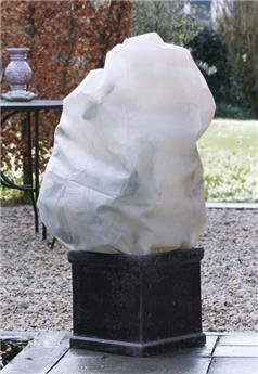 Housse hiver blanc Ht100 x D 50 cm 50 gr/M² X 3  pièces
