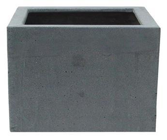 Polystone cubic low 60 60 Ht 51 cm (JDB)