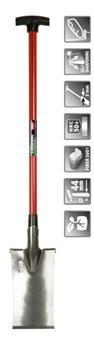 Beche 320 160 mm manche rouge T fibre 9001 ** Ultra solide**