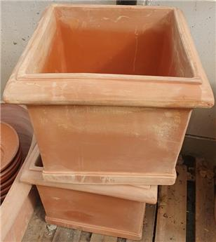 Cubo liscio Toscana 33 cm Ht 29 cm  (JDB)