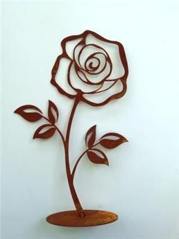 Rose plateau 11*16 cm